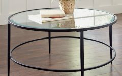 Circular Glass Coffee Tables
