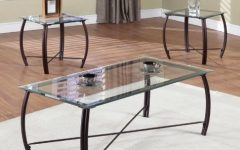 Glass Coffee and End Tables Modern Furniture