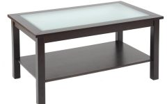 Glass Topped Coffee Tables