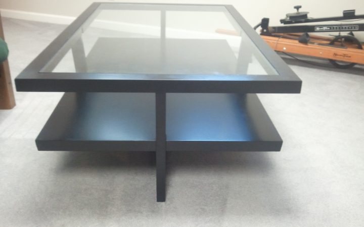 Modern Glass Contemporary Coffee Table