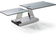Glass Modern Coffee Table Furniture