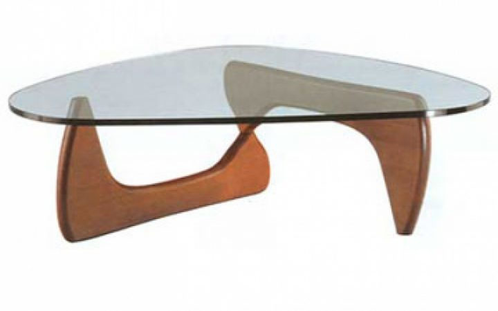 Glass Top Wooden Coffee Table Furniture