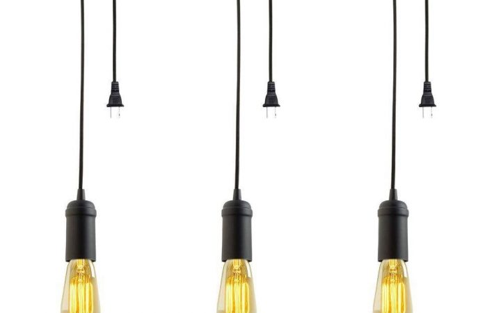 Plug-in Hanging Pendant Lights