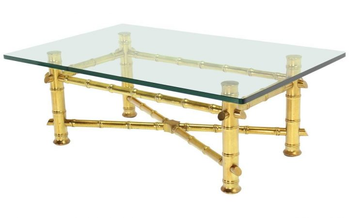 Thick Glass Coffee Table
