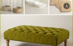 Green Ottoman Coffee Tables