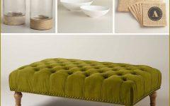 Green Ottoman Coffee Tables