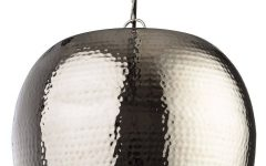 Hammered Metal Pendant Lights