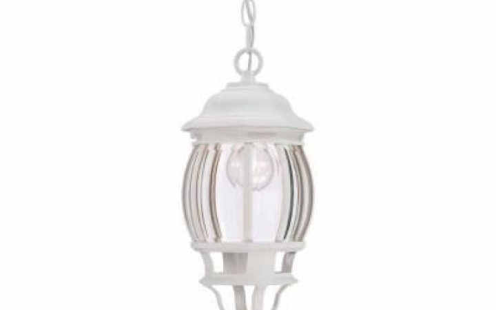 White Outdoor Hanging Lanterns