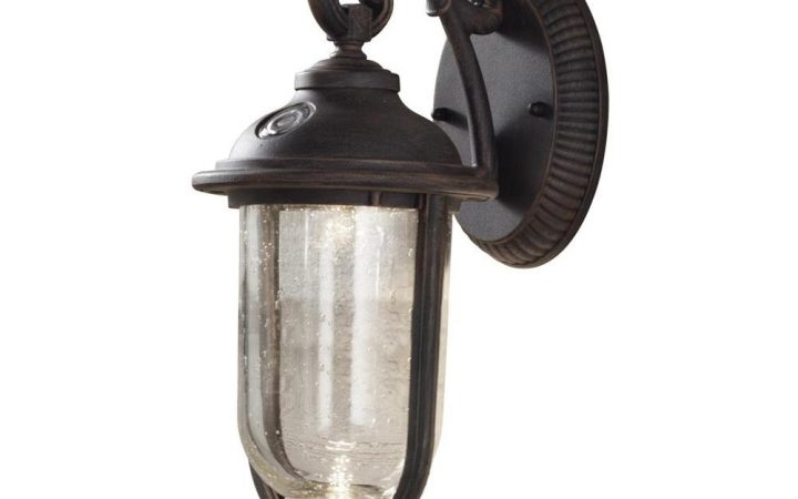 Outdoor Lanterns with Photocell