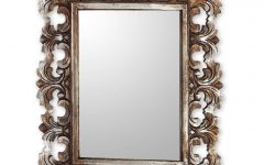 Distressed Silver Mirrors