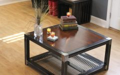 Steel and Wood Coffee Tables
