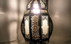 Outdoor Hanging Moroccan Lanterns