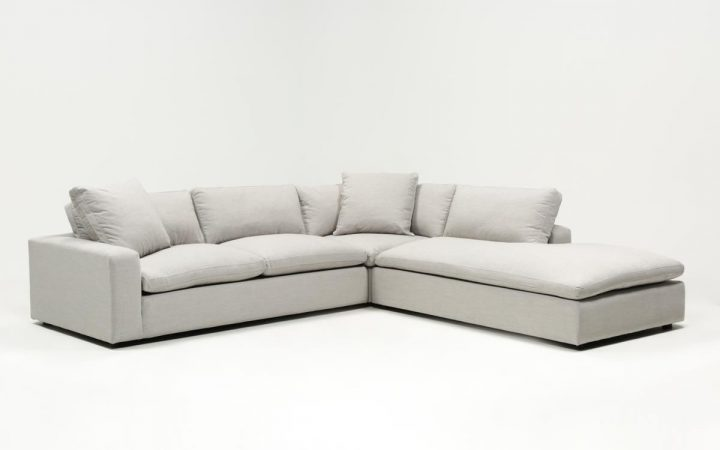 Haven Blue Steel 3 Piece Sectionals