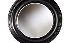 Round Black Mirrors