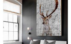 Deer Canvas Wall Art