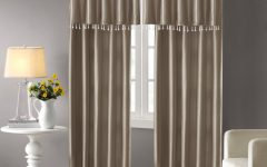 Twisted Tab Lined Single Curtain Panels