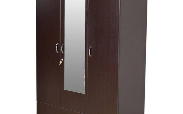 Three Door Wardrobes with Mirror