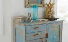 White Distressed Finish Sideboards