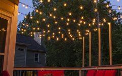 Hanging Outdoor Lights on Deck