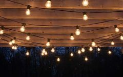 Outdoor Hanging Lights on String