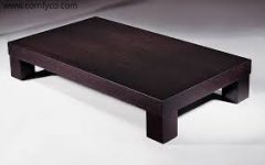Free Modern Wood Coffee Table Example