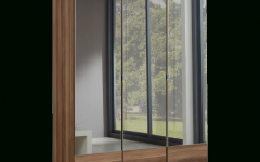 Three Door Mirrored Wardrobes