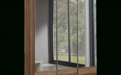 3 Door Mirrored Wardrobes