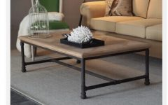 Industrial Glass Coffee Table
