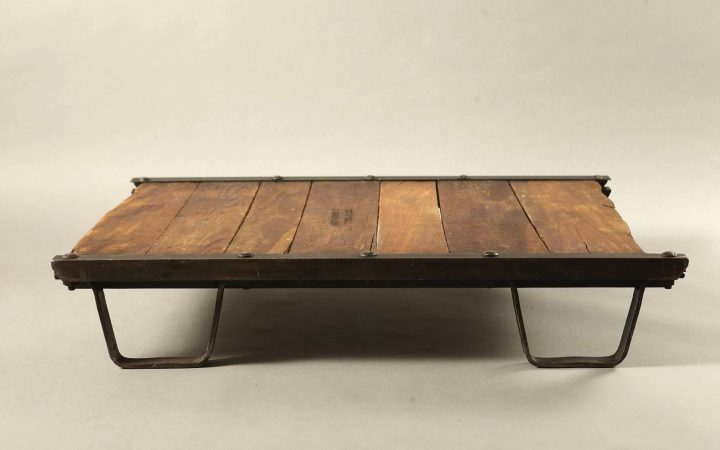 Low Industrial Coffee Tables