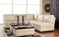 Ashley Faux Leather Sectional Sofas
