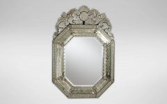 Small Venetian Mirrors