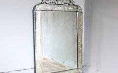 Square Venetian Mirrors