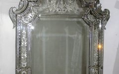 Large Venetian Mirrors