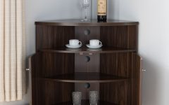 3-shelf Corner Buffets
