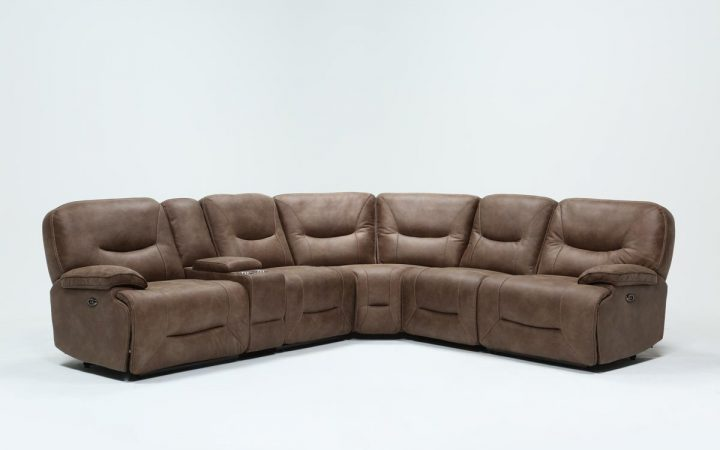 Jackson 6 Piece Power Reclining Sectionals