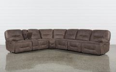 Jackson 6 Piece Power Reclining Sectionals with Sleeper