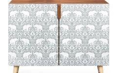 Elephant Damask Paloma Credenzas