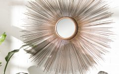 Jarrod Sunburst Accent Mirrors