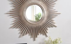 Josephson Starburst Glam Beveled Accent Wall Mirrors