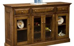 """Francisca 40"""" Wide Maple Wood Sideboards"""