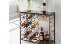 Buffets With Bottle and Glass Storage