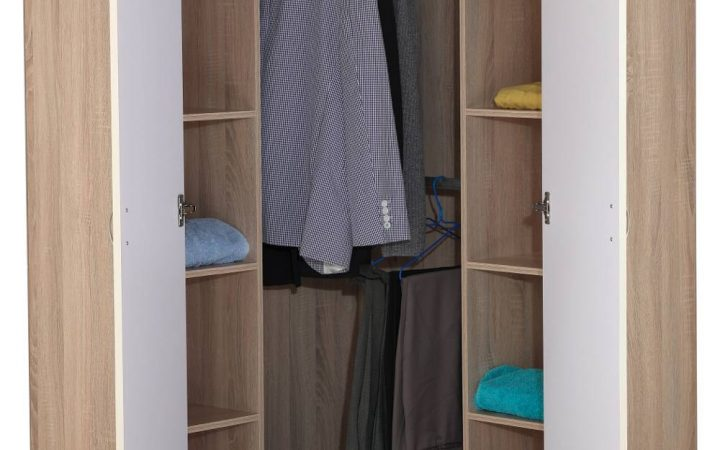 2 Door Corner Wardrobes