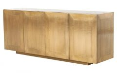 Aged Brass Sideboards