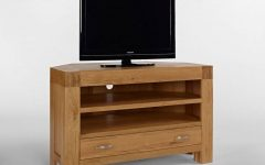 Chunky Oak Tv Unit