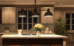 3 Pendant Lights for Kitchen Island