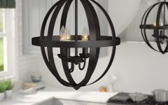 La Barge 3-light Globe Chandeliers