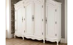 French Style White Wardrobes