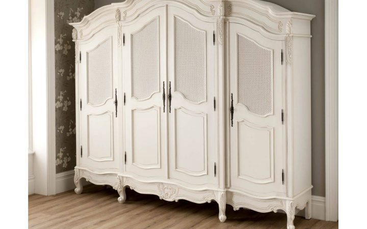 3 Door French Wardrobes