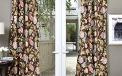 Lambrequin Boho Paisley Cotton Curtain Panels