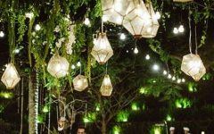 Outdoor Hanging Lanterns for Wedding